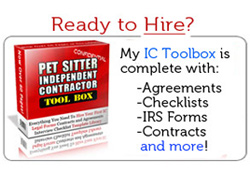 pet sitter ic toolbox