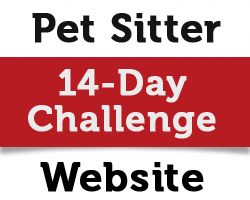 pet sitter website challenge