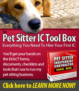 pet sitter IC tool box image