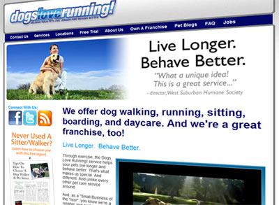 dogs love running screenshot