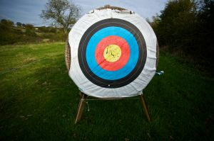 on target photo