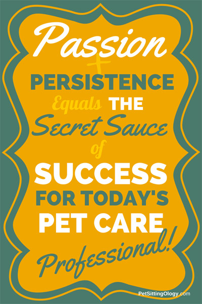 passion and persistence for success