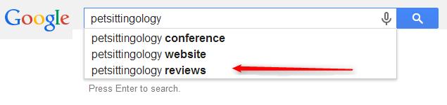 petsittingology reviews google screenshot