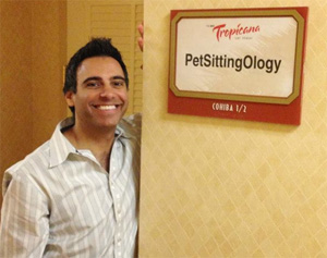 josh cary at pet sitting conference
