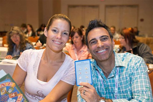 Josh and Megan at the pet conference