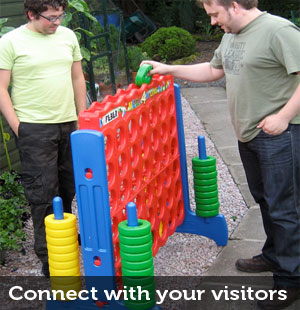 connect with your website visitors