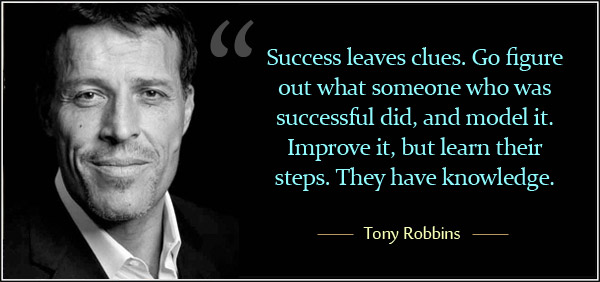 Tony Robbins success quote