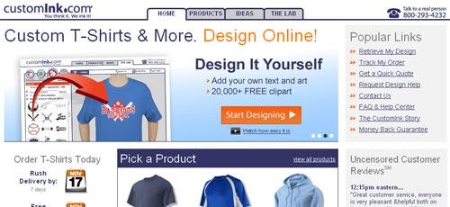 tee shirt design website