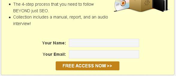 sign up box plugin