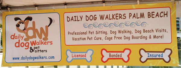 Daily Dog Walkers banner