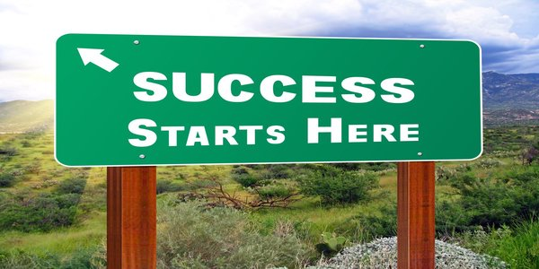 success starts here image