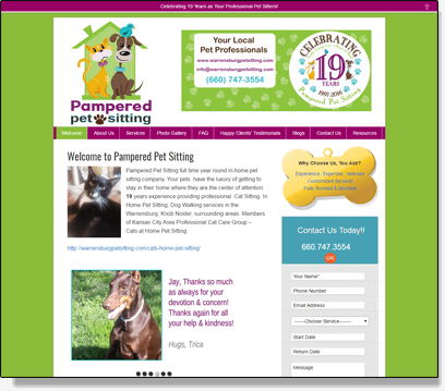 Jay Pattiz website screenshot
