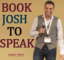book josh cary to speak