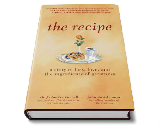 The Recipe book cover
