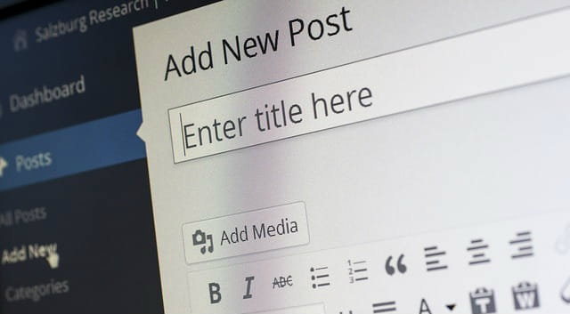 Add New Wordpress Post