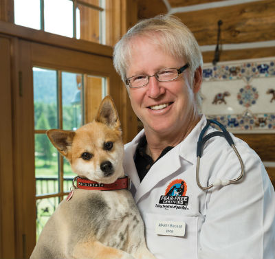 Dr. Marty Becker photo with dog
